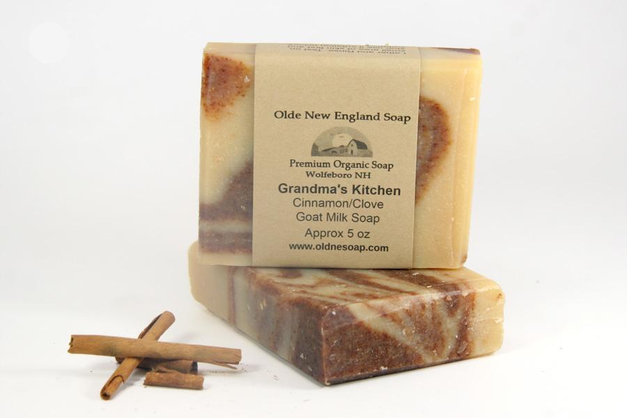 cinnamon and clove goat milk soap
