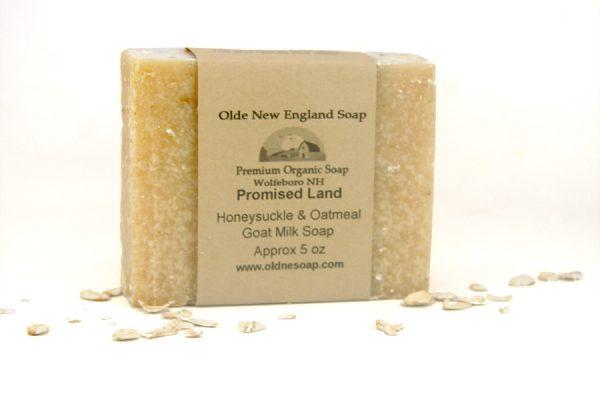 Honeysuckle and Oatmeal Goat Milk Soap