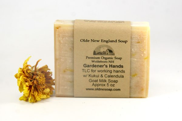 Unscented Calendula and Kukui Goat Milk Soap