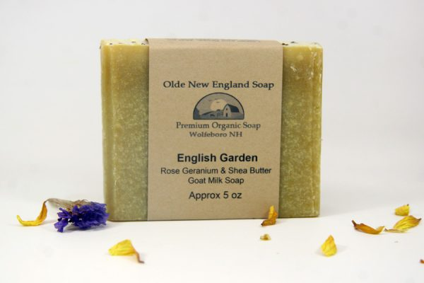 English Garden Geranium Goat Milk Soap